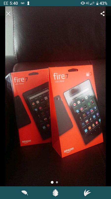Brand New Amazon Fire 7 Tablet 16Gb with Alexa  | in Braintree, Essex |  Gumtree
