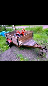 Strong trailer for sale