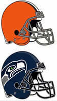 CHEAP! UP TO 4 IN A ROW - CLEVELAND BROWNS vs SEATTLE SEAHAWKS!