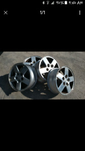 4 16 inch rims from 2000+ chevy equinox