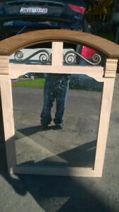 dresser mirror   and single matresss for sale