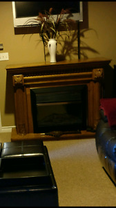 Fire place & mantle