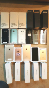 iphone 5s 6 plus 6s + Samsung s5 s6 s7 s8 + Edge Note 5 UNLOCKED