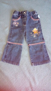Girls Winnie the Pooh Jeans - Size 18 Months