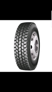 NEW TIRES 11R24.5 16PLY OPEN AND CLOSED SHOULDERS TIRES