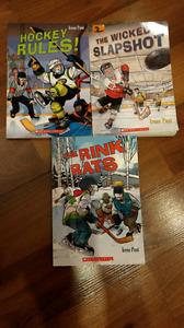Kids books: hockey themes