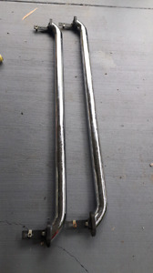 Chrome bed rails off 2011 chevy