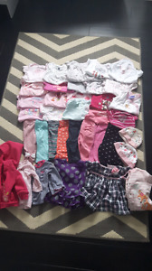 3 month girl lot clothes