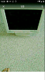 NEC LCD monitor for sale 15 inch wide