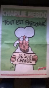 Controversial Charlie Hebdo newspaper London Ontario image 1