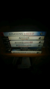 Jeux Ps3 assassins creed