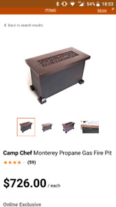 Camp Chef Monterey Propane Gas Fire Pit