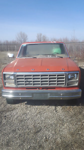 1980s Ford 4 speed standard 2WD