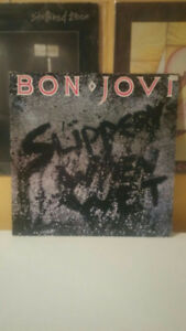 Bon Jovi Slippery When Wet Album Vinyl / Record / LP