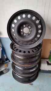 "17"" steel rims Kitchener / Waterloo Kitchener Area image 2"