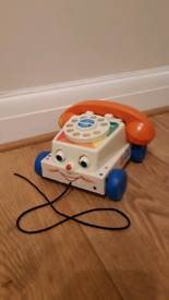 Fisher Price Chatty Phone toy