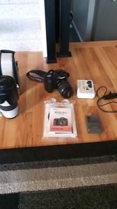 Canon EOS 40D 17-85mm + EF 70 - 200mm F2.8 L IS USM - Mint