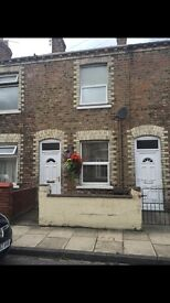 2 bed for courted mid terrace YO10 3EP NOT Huntington