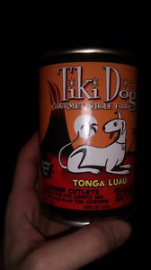 Tiki gourmet while food wet adult dog food