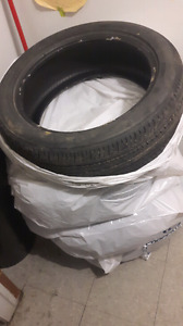 17inch all season used bridgestone ecopia set of 4