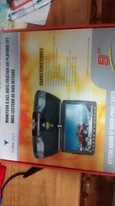Lecteur DVD écran 9 pouces avec plafonnier camion van campeur r