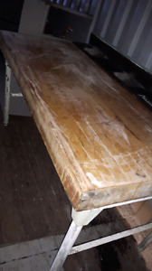 RESTAURANT*BUTCHER TABLE* ONLY$295