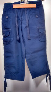 "Nevada ""New"" Cargo Capris Size 8"