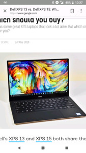 Dell xps 13 qhd 4k touch screen. 8gb ram i7 256gb ssd
