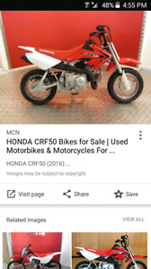 Looking for honda crf50