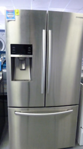 REFRIGERATEUR / FRIDGE STAINLESS  PLUSIERS MODELS  ET PRIX
