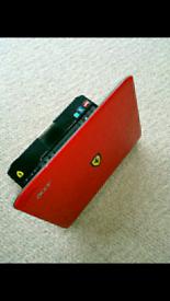 Acer One Ferrari Laptop 200 series Windows 7
