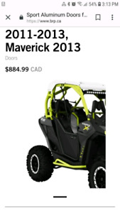 Can am maverick doors and roof