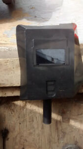 Pâre  à vent pour soudure électrique