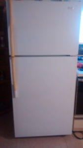 maytag fridge and gas cooking stove