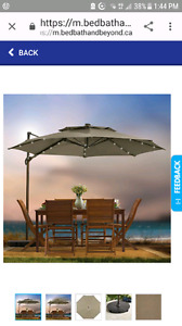 WANTED free standing patio umbrella