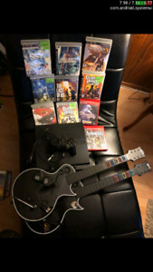 Ps3 with one controller and 10 games