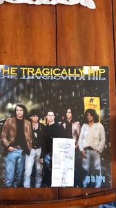 Tragically Hip album and Chromecast