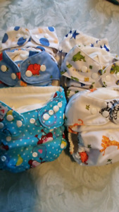 SOLD! Cloth diapers