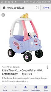 Iso: Fairy Cozy Coupe!