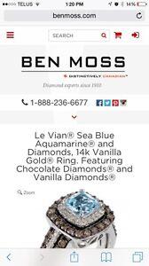 Le Vian 14K White Gold Diamond Ring