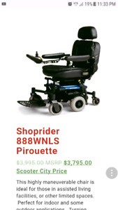 Shop rider mobility chair