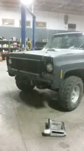 Reduced 79 scottsdale squarebody with low km crate motor
