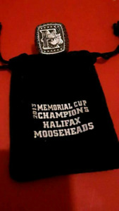 Halifax Mooseheads Ring  $25 TODAY