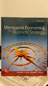 Managerial Economics and Business Strategy *HARDCOVER*