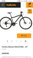 Voodoo Marasa hybrid bike (basically brand new)