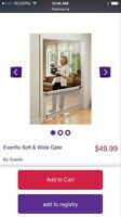 Evenflo soft and wide baby gate