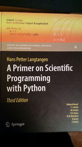 A primer on Scientific programming with python (third edition)