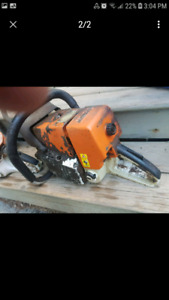 Two stihl saws