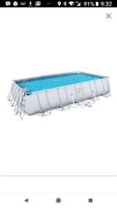 Coleman 12 feet by 22 feet Above Ground Pool