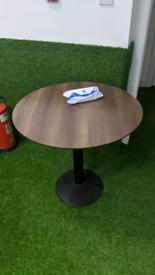 Commercial wooden table desk heavy base